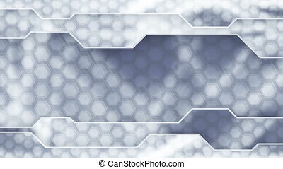 grey technology plates background