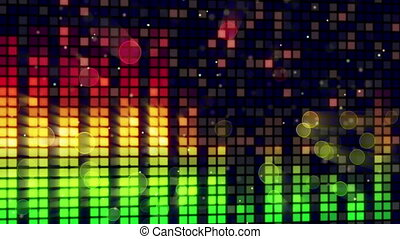 sound level meter equalizer loop - sound level meter...