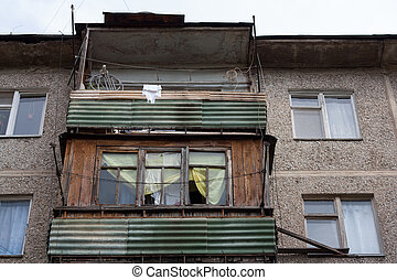 old house in the USSR