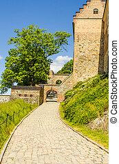 Akershus Fortress pathway