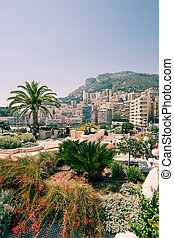 Monaco cityscape - Image showing an instance of famous...