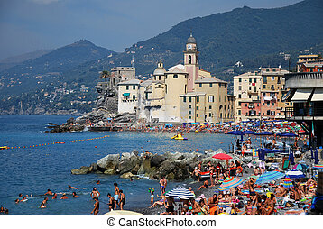 Camogli Liguria - Camogli, tourist center in the Gulf of...