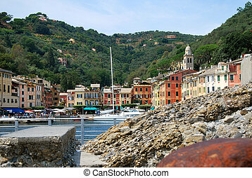 Portofino, is a legendary italian small ocean front village...