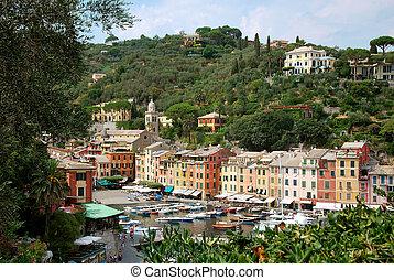 Portofino, is a legendary italian small ocean front village...