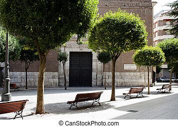 Church San Andres Apostol in Valladolid, Castilla-Leon,...