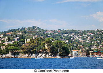 Rapallo Liguria - Rapallo, tourist center in the Gulf of...