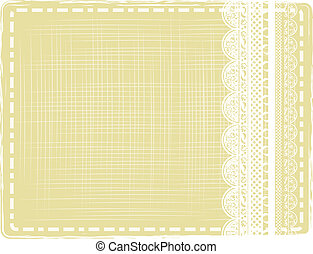 abstract background with lace - abstract vintage border with...