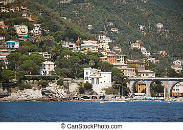 Zoagli Liguria - Zoagli,tourist center in the Gulf of...