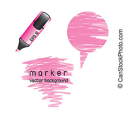 pink highlighter