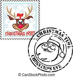 stamp christmas