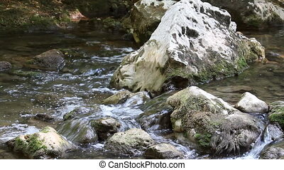 nature scene mountain stream