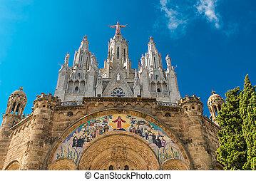 Templo del Sagrado Corazn de Jesus - View of the cathedral...