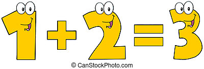 1 Plus Number 2 Equals Number 3 - Number 1 Plus Number 2...