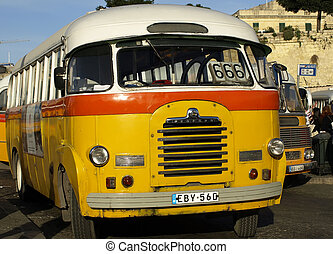 The Beast - The legendary and iconic Malta public buses