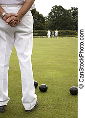 Bowls Green White trousers - White trousers as Subject on...
