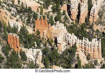 Bryce Canyon in Utah in the United States of America