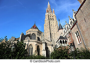 Church of Our Lady Bruges - the Church of Our Lady,...