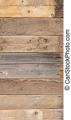 Old wood panels for background