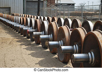 Rail car wheels