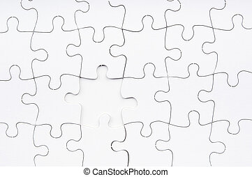 Jigsaw Puzzle Missing Piece
