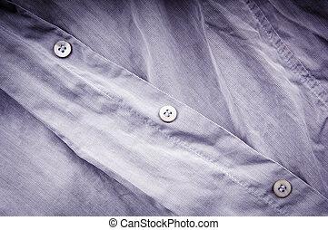 arrugado, camisa, empresa / negocio
