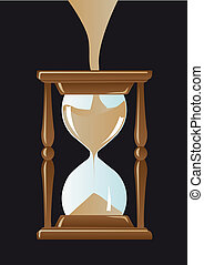Need more time - Abstract vector illustration of an...