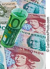 swedish krona multiple currencies - swedish krona, the...