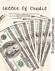 dollar currency notes and english credit agreement