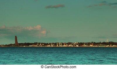 Laboe coastline at sunset, Kiel