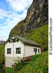 House in Geiranger, Norway