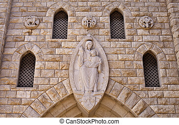 Monastery - Our Lady of Mount Carmel Monastery, Haifa,...