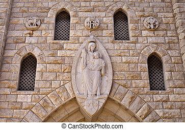 Monastery - Our Lady of Mount Carmel Monastery, Haifa,...