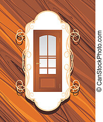 Manufacture of doors. Background