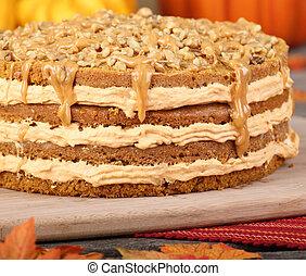 Whole Pumpkin Cake