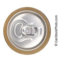 Aluminium closed beer can
