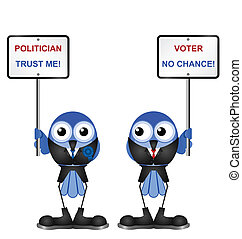 politicians - Representation of politicians poor standing...