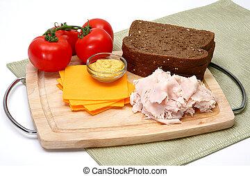 Turkey Sandwhich Ingredients
