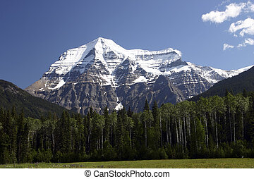 Mountain Robson - View of Mt Robson