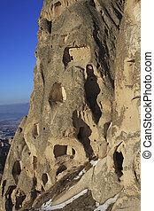 Rock House in Turkey - Rock Formations of Capadocia people...
