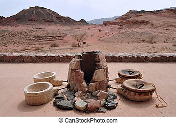 Travel Photos of Israel -Timna Park and King Solomons Mines...