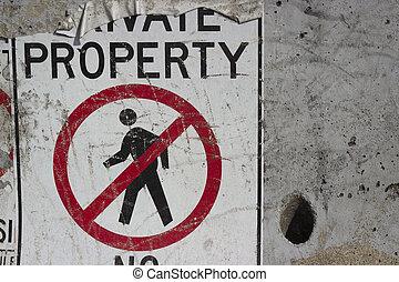 No Trespass91 - No trespassing background