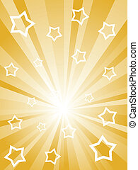 Abstract sunny rays background - Abstract sunny rays with...