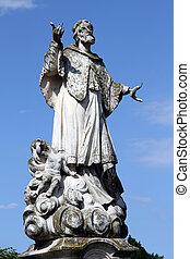 estatua, Santo