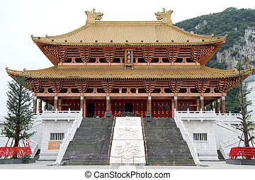 Confucius temple - New Confucius temple in Luzhou, China