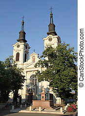 Church with towers