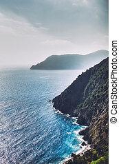 Italian Coast - Italian coast in Liguria