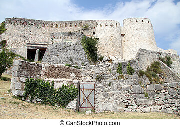 Bastion of old fortress in Knin, Croatia