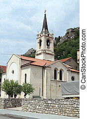 Old church - Old catholic church in Knin, Croatia