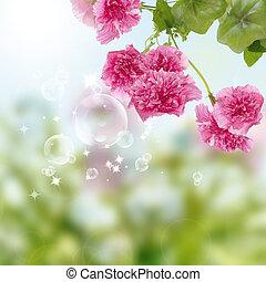 Flowers decorative beautiful design