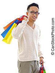 Man shopper